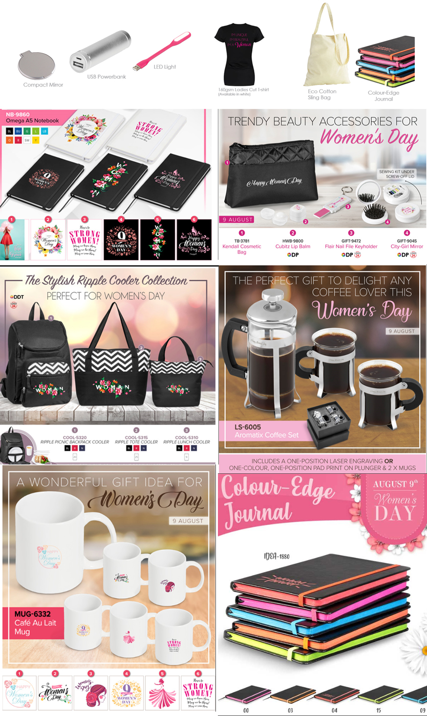 Women S Day Promotional Gifts Ideas Bannerxpert Blog Promotions Company South Africa
