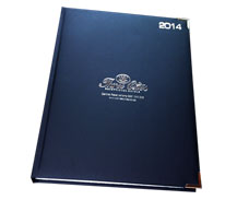 2019 Executive Padded foiled diary