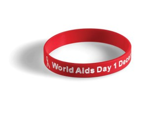 Aid day wristbands