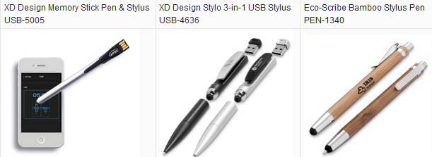 XD Design Memory Stick Pen & Stylus USB-5005; XD Design Stylo 3-in-1 USB Stylus USB-4636; Eco-Scribe Bamboo Stylus Pen PEN-1340; XD Design USB Stylus Pen ;XD Design Stylo USB Pen; bamboo eco stylus pen;