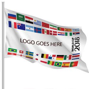 soccer outdoor flag