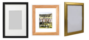 Frames for certificate, Wooden, Silver, Gold