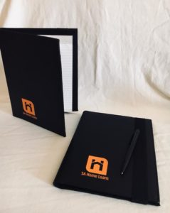 A5 and A5 folders with print