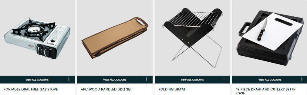 portbale duel gas stove, wooden handle bbq set, folding braai, braai cutley set in case