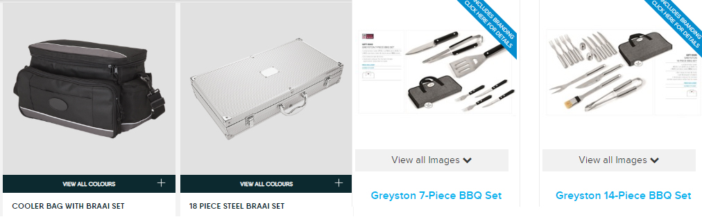 cooler bag with braai set, steel braai set, bbq set, greyston bbq set, greyston braai set,