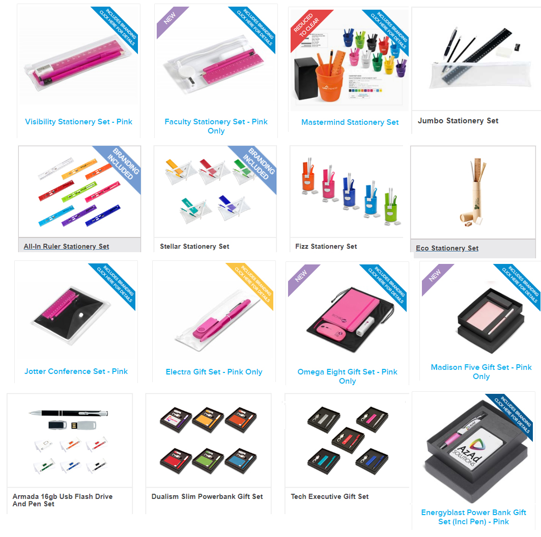 gift for women -stationery sets