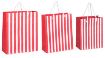 festive gift bag