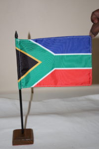 SA Desk Flags with dowel and base