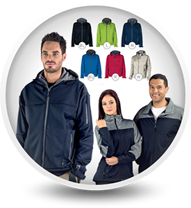 Warm Winter Soft Shell Jackets - Client Gifts