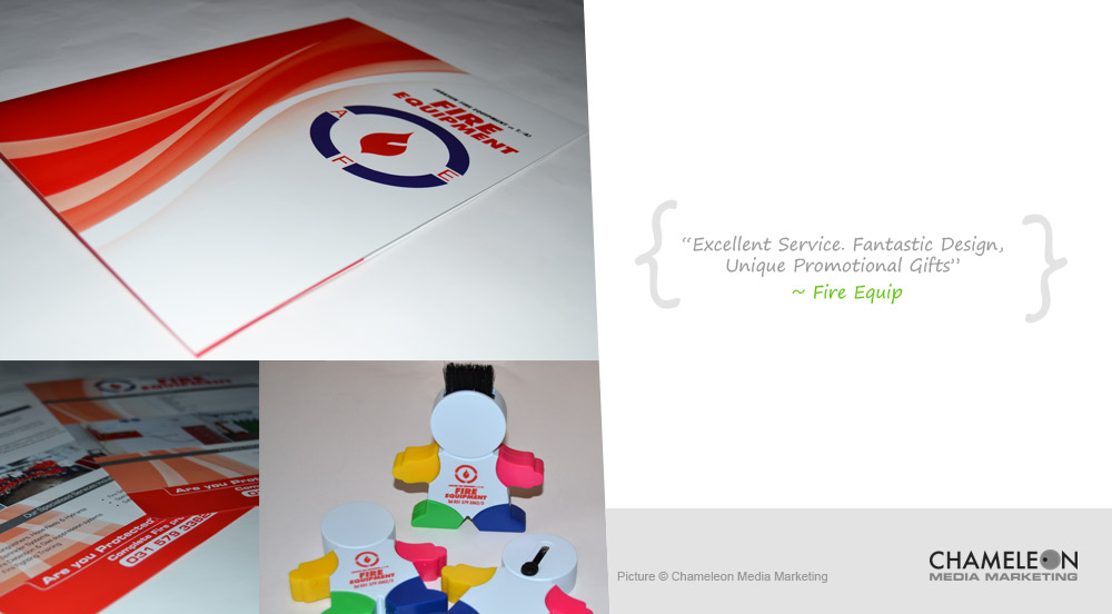 Printed Presentation Folder, Leaflets and Promotional Gifts -Client Gifts for the Safety Sector