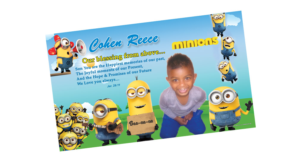 minion, Despicable Party Banner