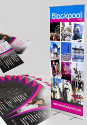 Business Card and Flyer and roll up banner Package, startup business package