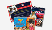 Birthday Party Digital Invitations, E-vites Design, Custom Invites, Durban