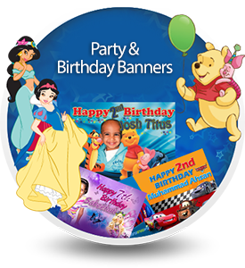 Personalised Birthday, Party Banners