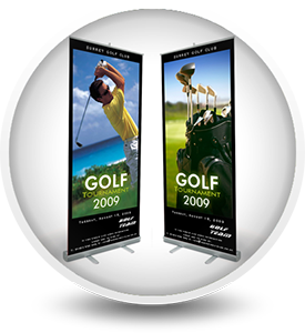 Roll Up Banner Printing Durban. Retractable Stands