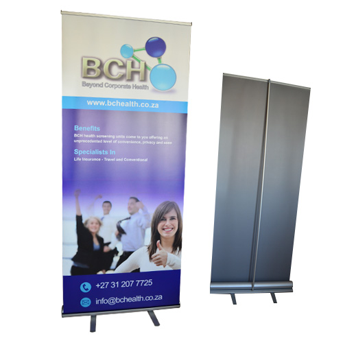 Roll up banner - Economy. Budget Banners, Durban, South Africa
