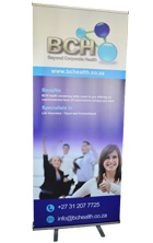 Pull up banner - Economy. Budget Banners, Durban, South Africa