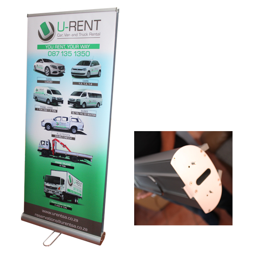 Doube sided Roll up banner - Durban, South Africa