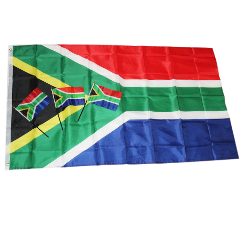 SA Supporter Flag and handheld flag, South Africa