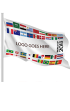 World cup soccer company flag, South Africa