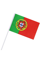 Custom company world cup handheld Flags,South Africa